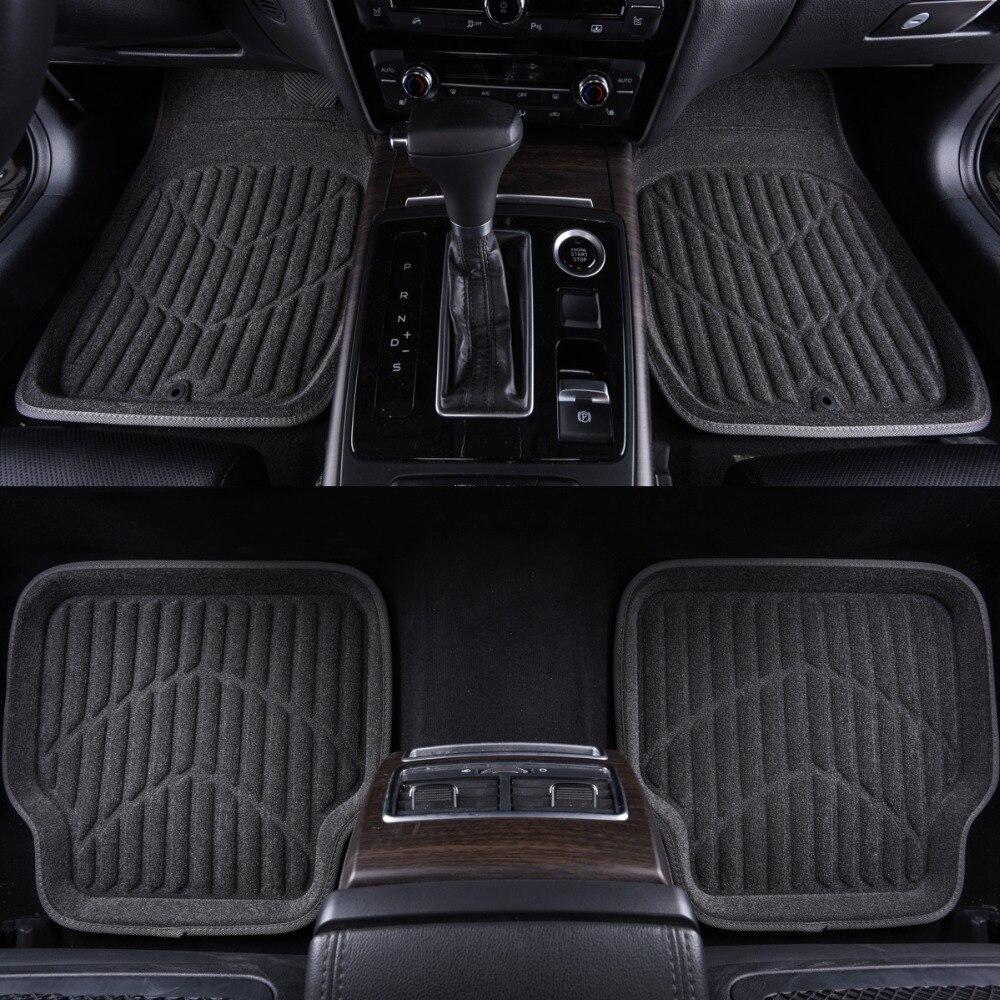 SKODA SUPERB ALL MODELS 5 Piece Heavy Duty Rubber MPV Taxi Style Floor Mat Set