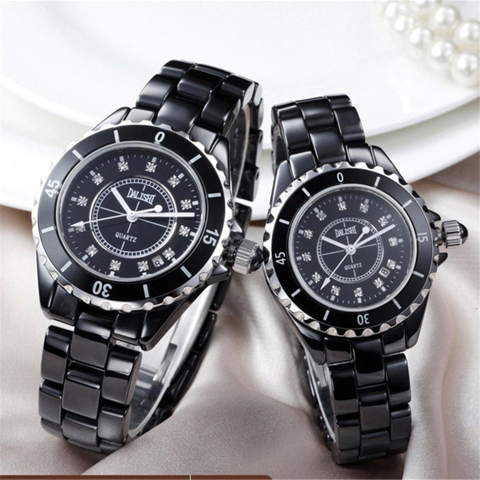DALISHI Brand Women Quartz Watch Men/Lady Couple Watches Fashion Girl Bracelet Charm Wristwatch Calendar Luminous Montre Femme dioni dioni d135b 2gb