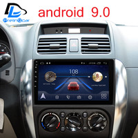 Android 9.0 Car DVD GPS Stereo Audio Navigation System for Suzuki SX4 swift 2006 2016 years Radio player