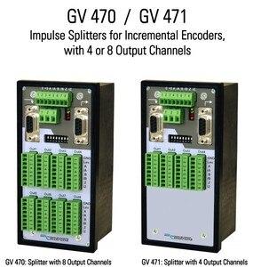 Image 4 - Motrona GV204 GV210 GV470 GV471 darbe sinyal Splitter Switcher diferansiyel tek uçlu HTL TTL artımlı enkoder distribütörü