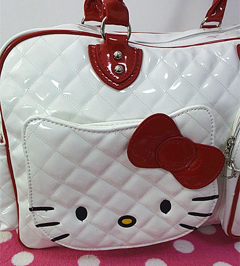 6860d21103ca New Hello kitty Large Handbag purse Travel Shopping Tote Bag CC-2089