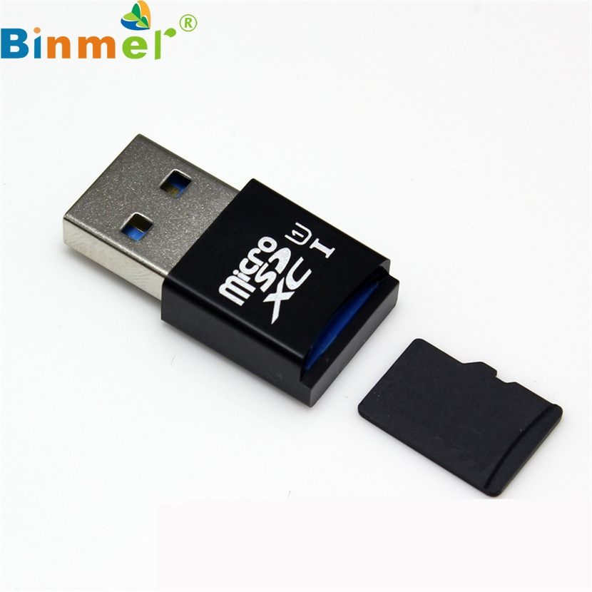 Binmer Mecall MINI 5Gbps Super Speed USB 3.0 Micro SD/SDXC TF Card Reader Adapter