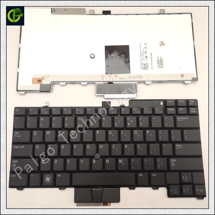 English Backlit Keyboard for Dell Latitude E6400 E6410 E5500 E5510 E6500 E6510 Precision M2400 M4400 laptop US new laptop keyboard for dell latitude e5300 e5400 e5500 e5410 e5510 e6400 e6410 e6500 e6510 qwerty spanish espanol hispanic