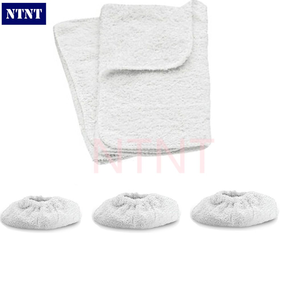 Fast Free Post New For KARCHER Steam Cleaner Hand Tools Terry Cloth Covers & Washable Cotton Cover Pads стоимость