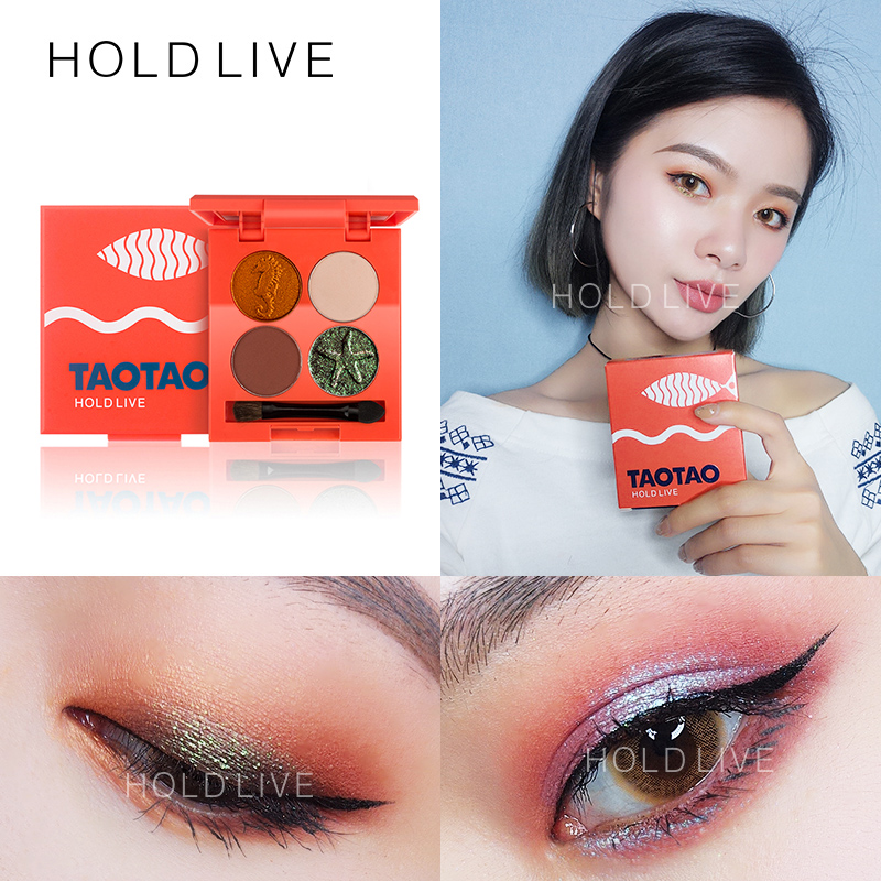 HOLD LIVE 6Colors Eyeshadow Palette Eyes Makeup Shimmer Matte Pigment Eye Shadow Cosmetics Mineral Nude Glitter Shadows Make Up 24 full colors matte eye shadow palette pigment glitter eyeshadow palettes nude shadows cosmetics eyes shades enhancer makeup