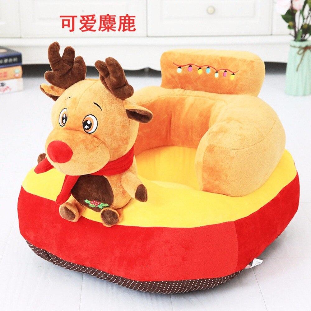 Tapis de jeu bébé peluche licorne chaise pour bébé apprendre s'asseoir bébé chaise tapis Moose jouer tapis de jeu canapé enfants cadeau - 3