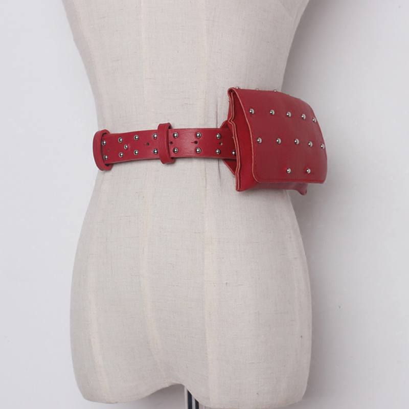 CHICEVER 2017 PU Leather Rivets Female Beltss
