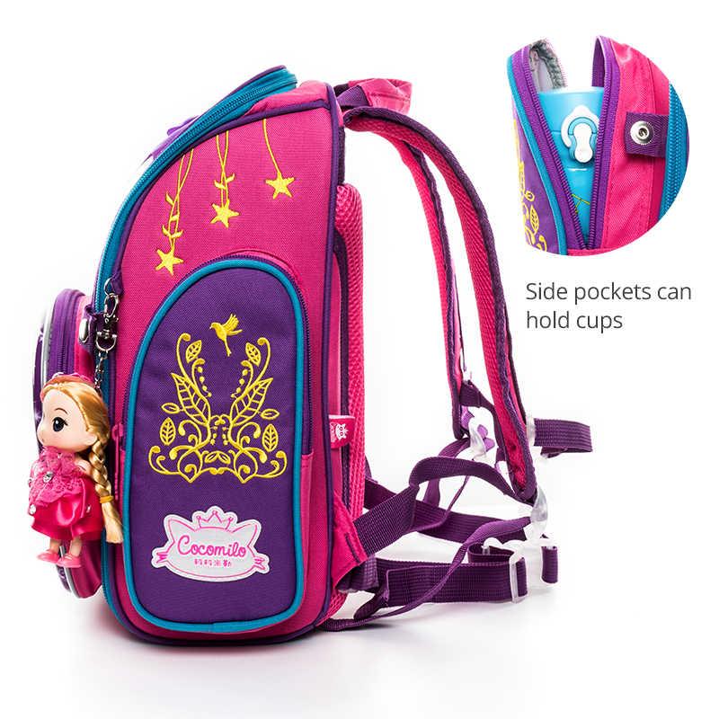 Cocomilo 2019 детский школьный рюкзак для девочек для мальчиков мультфильм Динозавр школьная сумка ортопедический рюкзак Mochila Infantil класс 1-3
