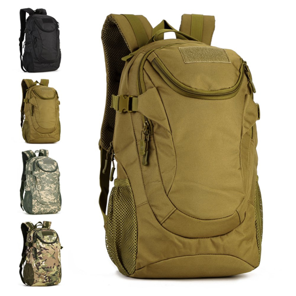 Sport Bag 25L Outdoor font b Tactical b font Hiking Camping Rucksack Army Military Rucksack font