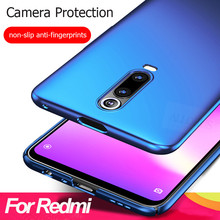 ALLORUS Original Case for Redmi Note 7 5 Pro 6A 7A 6 Cover Plastic Hard PC Ultra Slim Back