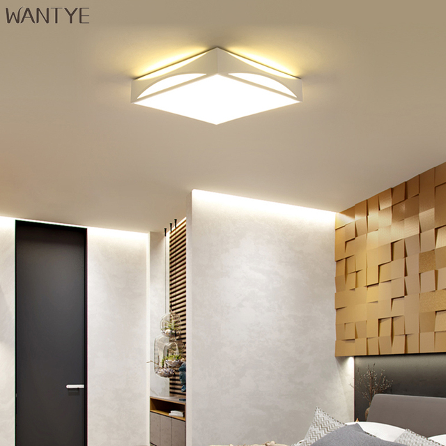 WANTYE Lamparas LED Ceiling Lights Bedroom Surface Mounted Ceiling Lighting Lamp Living room Modern Light with Remote Control