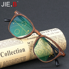 JIE.B Brand Vintage Multi-focal Progressive Reading Glasses Men Women Presbyopic Eyeglasses For Male Female Eyewear