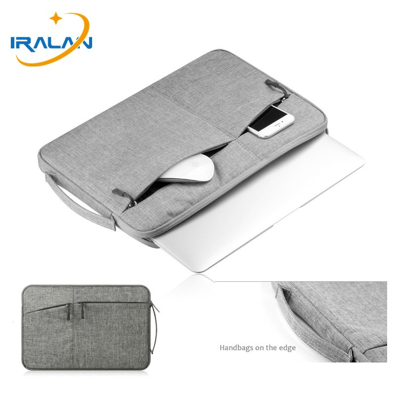Laptop Bag Sleeve Case For Macbook Air Pro Retina 11 12 13 14 15 15.6 Inch Handbag Waterproof Cover Women Men Computer Notebook