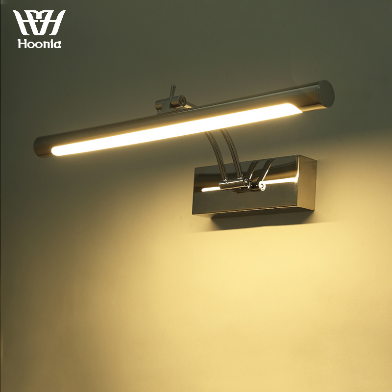Free shipping 7W LED Mirror Light 40CM Fashion Style Bathroom Wall Light 220V LED Wall Lamp
