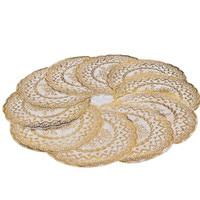 10pcs Bag Diameter 12cm Round Table Mat Bronzing Dish Bowl Drying Mat Tea Pad Kitchen Mat
