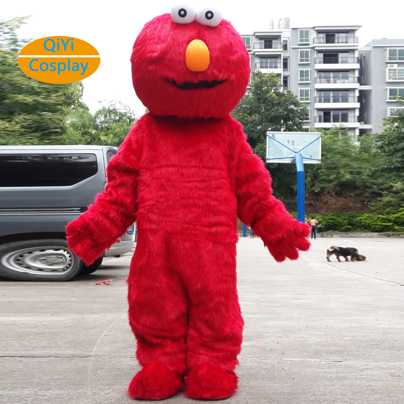 street mascotte costume cosplay elmo cookie monstre adult mascotte Costume carnaval Animal cosplay in Movie TV costumes from Novelty Special Use