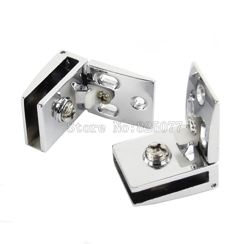 ФОТО High Quality Display Cabinet Door Glass Hinge Zinc Alloy Wine Cabinet Door Hinge for 3-5mm Thickness Glass KF942