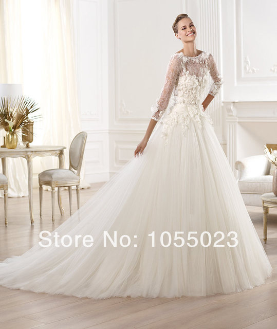 Lace Designers Wedding Dresses Ball Gown Luxury Elie Saab Bride For Sale Sexy Shop Online