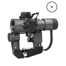 1X30 отдачи устойчивостью СВД Красный точка зрения Охота Прицелы прицел тактический CQB оптический прицел fit Тигр SKS Стиль боковое крепление