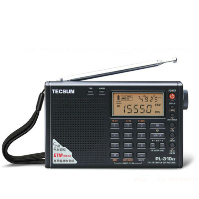 Hot sale!! Tecsun PL-310ET Full Band Radio Digital Demodulator FM/AM/SW/LW Stereo Radio TECSUN PL310ET