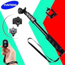 Для Gopro Go Pro Hero4/3/2 Xiaomi SJCAM Yunteng 188 Портативный Выдвижная Ручной Телескопический Селфи Палки Монопод для DSLR Камеры