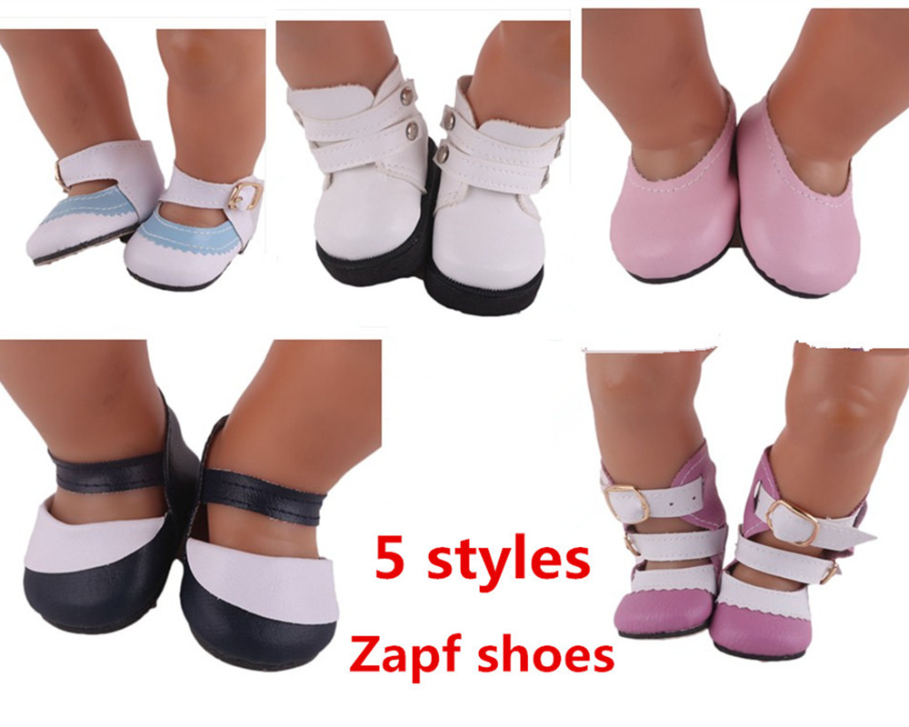 5 Styles shoes Wear fit 43cm Baby Born zapf, Children best Birthday Gift