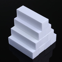 10Pcs White Nail Buffer Set Sanding Block Grinding Polishing File Nail Art Manicure Tools Nail Care Treatment Kits UV Gel Polish