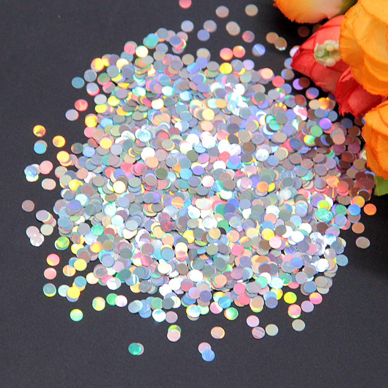 Pailette Ultrathin Dot Sequins 3mm PET Paillettes Laser Sequin for Nails Art Manicure Wedding Christmas Decoration Confetti 8g