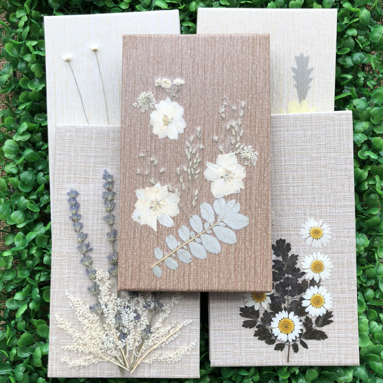 Image 4 - DIY Pure handwork Dried flowers seriesn Creative Notebook Planner Agenda Diary Notepad Filofax Journal Bujo 2019 Hand Book Gift-in Notebooks from Office & School Supplies