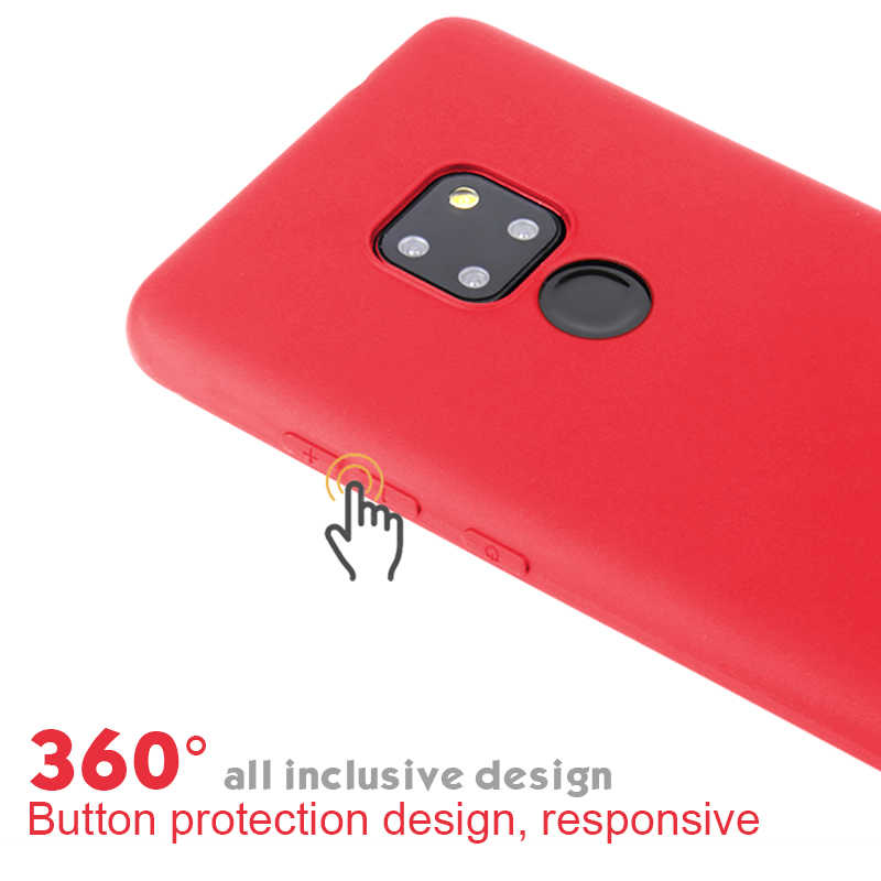 Soft Case For Huawei P30 Pro P20 P10 Lite Nova 4 Y7 Prime 2018 Y9 Silicone Back Cover Phone Case For Huawei Mate 20 10 Pro Capa