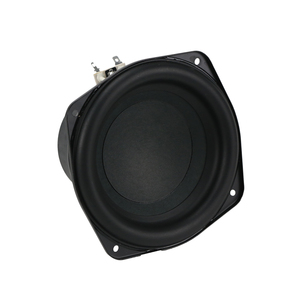Image 2 - GHXAMP 150MM 6 inch Pure Subwoofer Speaker Unit 4ohm 60W Deep Bass Speakers Home Theater Car Loudspeaker Rubber Edge 1pc