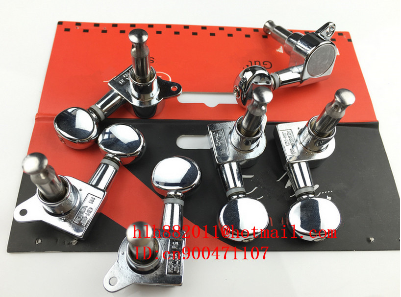 free shipping new electric guitar chrome metal tuning peg guitar button for one side of the guitar  J-05 AR-2 цена и фото