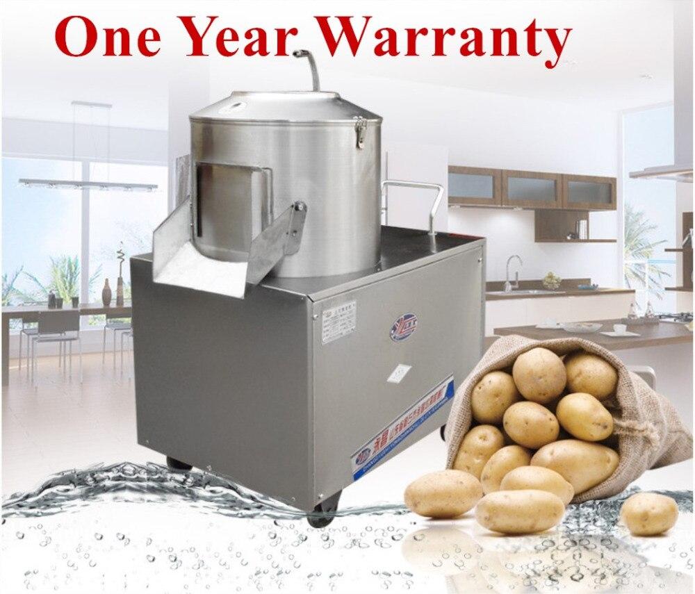 Machine d'épluchage électrique de patate douce d'éplucheur de Photo de 220 V 50 HZ 1100KW 750 KG/H