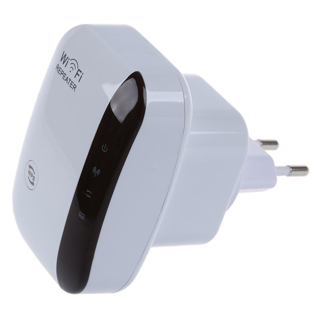 Gamme Routeur Sans Fil-N Wifi Répéteur 802.11N 300 Mbps réseau L'UE Expander Plug Blanc