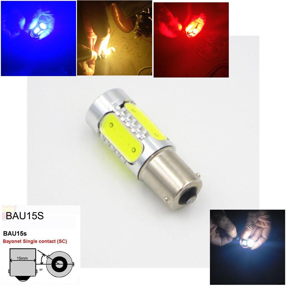 CYAN SOIL BAY S25 Car 5 COB 7.5W <font><b>LED</b></font> 150 Degree <font><b>BAU15s</b></font> <font><b>PY21W</b></font> 1156PY Turn Signal Bulb Lamp Fog Light White Blue Red Amber Yellow