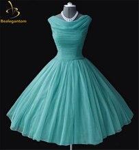 Женское атласное платье для выпускного вечера в стиле 50 х годов