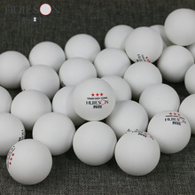 Huieson 50Pcs/Pack Profession Training Seamed Table Tennis Balls ABS Plastic Poly Ping Pong Balls 3-Star D40+ High Quality