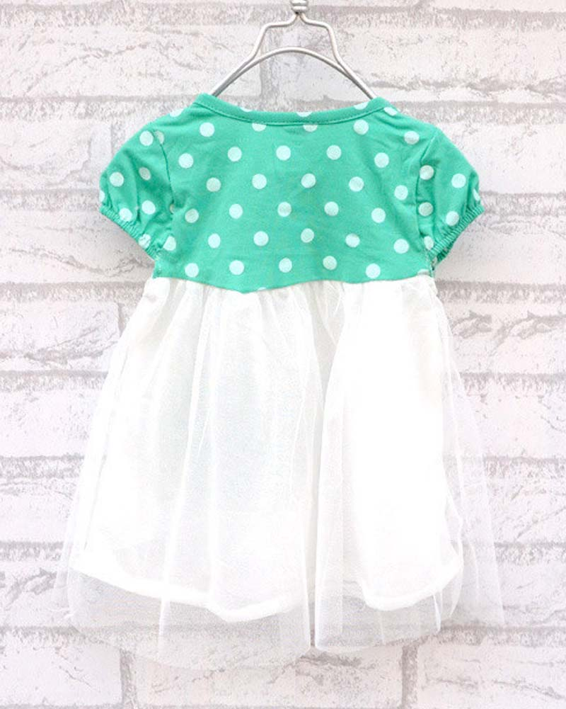 Hot Sell Baby Girls Dress 4 Colors Kids Wear Princess