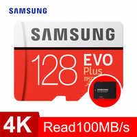 Carte mémoire SAMSUNG micro sd 32GB 64GB 128GB 256GB 512GB EVO Plus Class10 étanche TF Memoria carte Sim pour téléphones intelligents