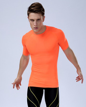 men's short sleeve sportswear quick-drying sportswear comfortable, breathable compress clothing  MA02