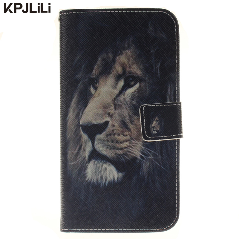 Colorful Wallet Full Body Protective Case for LG G Stylus 2 stylo 2 LS775 Cartoon Luxury Silicone Flip Stand Card Slot Cover
