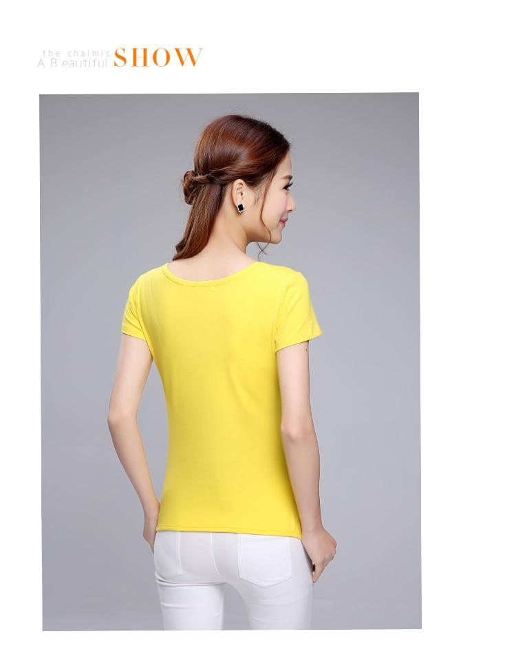 HTB1lzZwQpXXXXbbaXXXq6xXFXXXX - Summer clothing short-sleeve T-shirt female casual shirts
