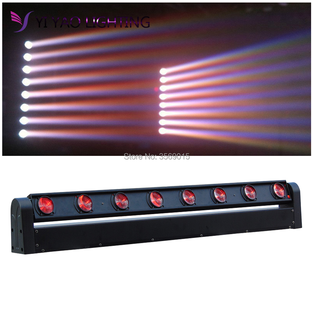LED Bar Beam Moving Head Light RGBW 8x12W Perfect for Mobile DJ PartyLED Bar Beam Moving Head Light RGBW 8x12W Perfect for Mobile DJ Party