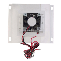 HOT Thermoelectric Peltier Refrigeration Cooling Cooler Fan System Heatsink Kit