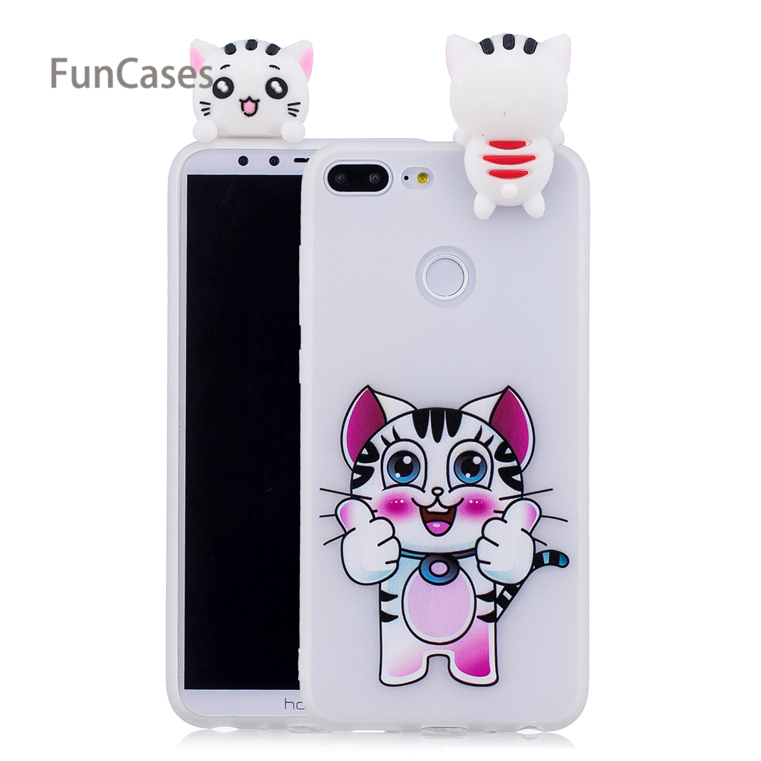 Cute Unicorn <font><b>Phone</b></font> <font><b>Case</b></font> sFor Estuche Huawei Honor 9 Lite Soft Silicone <font><b>Phone</b></font> <font><b>Case</b></font> Capa <font><b>Phone</b></font> <font><b>Case</b></font> Huawei Ascend Honor 9 Lite