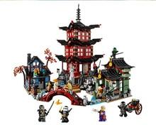 2016 Ninjaegoed lepin 06022 City of Stiix Building Blocks 2150pcs Temple of Airjitzu minifigures Kids Bricks Toys brinquedos