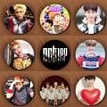 KPOP Coreano Youpop NCT 127 NCT NCT U Sueño NCTU NCT127 Alfileres Y Broches de Metal de 58mm Redondo de la Insignia Para La Ropa Sombrero Mochila
