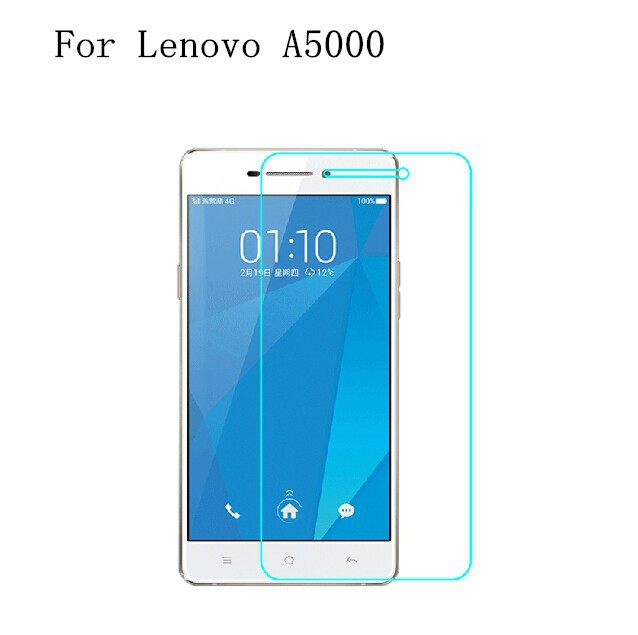 2PCS Screen Protector Glass Lenovo A5000 Tempered Glass For Lenovo A5000 Glass A 5000 Anti-scratch Phone Tempered Film WolfRule