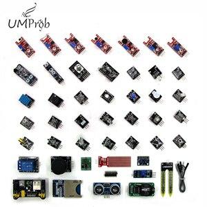 Image 1 - 45 in 1 Cảm Biến Các Module Bộ Khởi Đầu cho Arduino, tốt hơn so với 37in1 Bộ Bộ cảm biến 37 trong 1 Bộ Bộ Cảm Biến