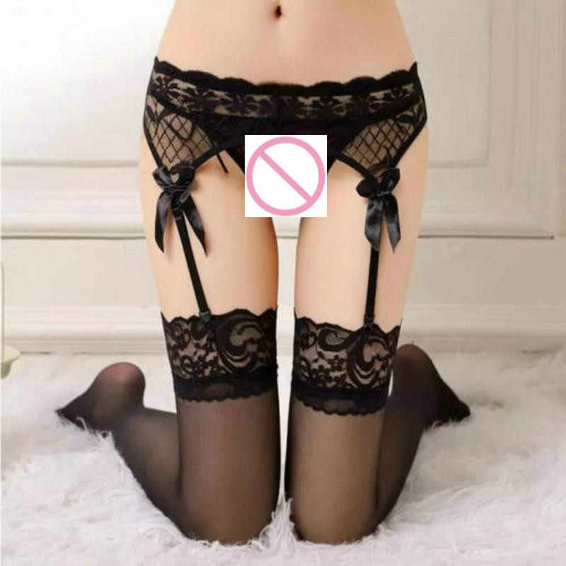 fa25ad935f8 ... 3 Pcs   Lot Apparel Accessories Sexy Lingerie Women Sheer Lace Top T-  Back G ...